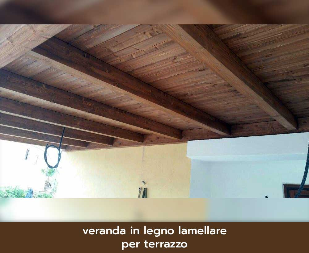 Coperture In Legno Lamellare Per Terrazzi. Finest Cucine Mondo ...